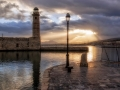Venetian Harbor Lighthouse in Rethymnon