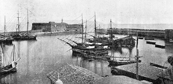 Historical information about Heraklion