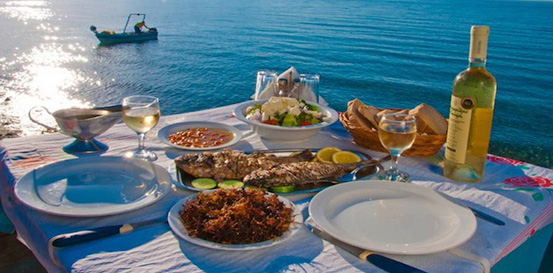 Local cuisine of Chania