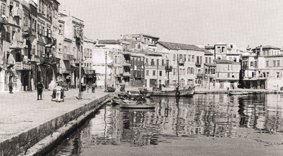Historical information about Chania