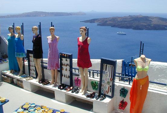 Αγορες Shopping Santorini Καταστηματα